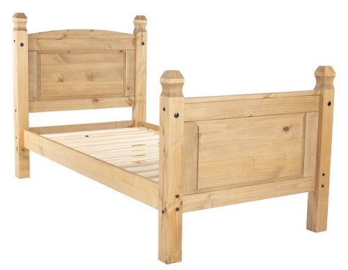New Mexican 3' High End Bedstead